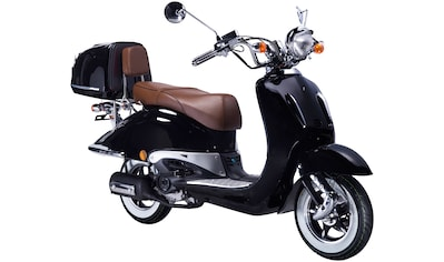 GT UNION Motorroller »Strada«, 125 cm³, 85 km/h, Euro 5, 8,6 PS, (Set), mit Topcase kaufen
