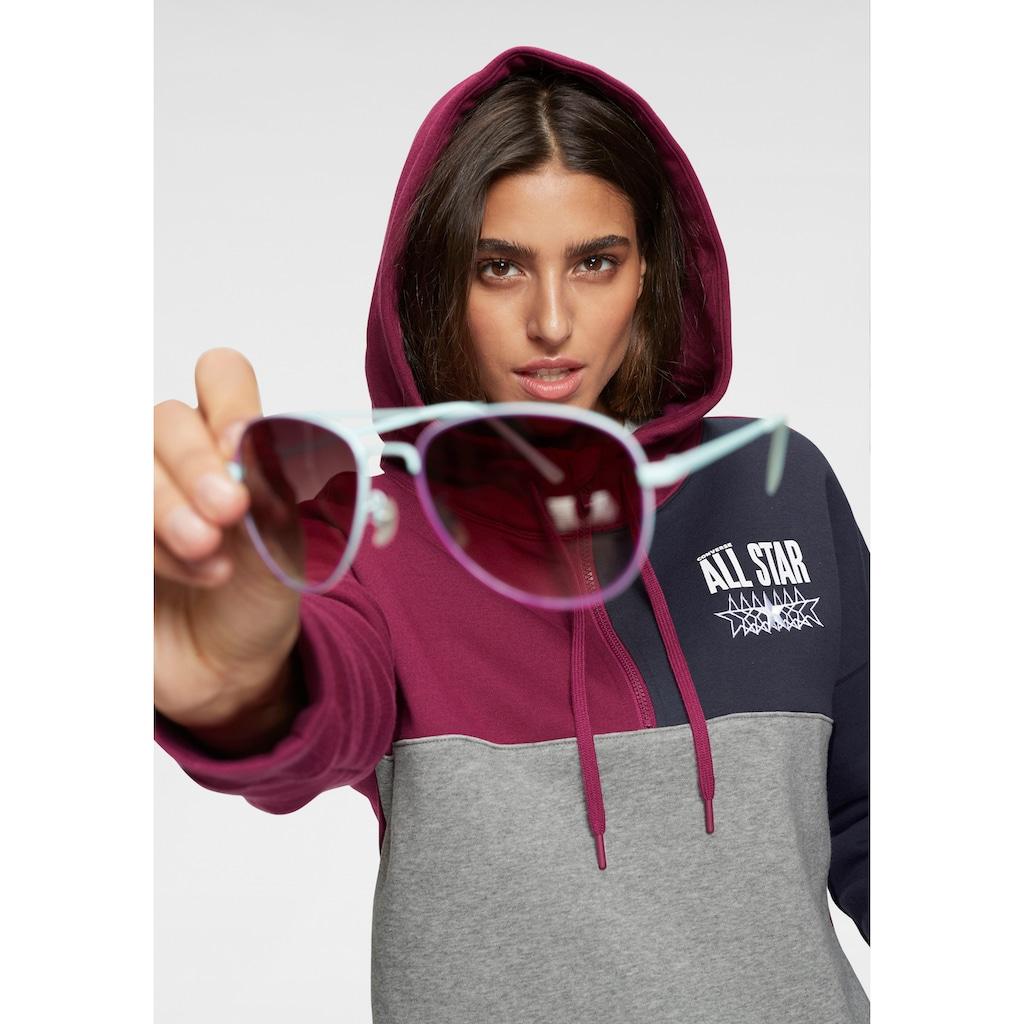 Converse Kapuzensweatshirt »ALL STAR BRUSHED-BACK FLEECE HOODIE«, Innen weich angeraut