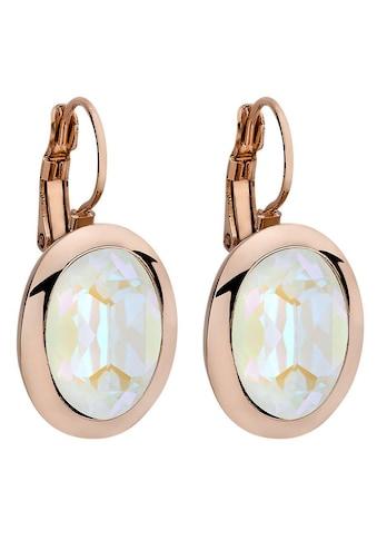 qudo Paar Ohrhänger »Tivola, 303173«, mit Swarovski® Kristallen kaufen