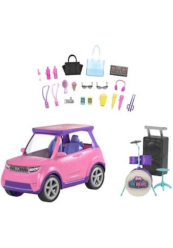 Barbie Puppen Fahrzeug »Big City, Big Dream SUV«, mit Bühne und Zubehör kaufen