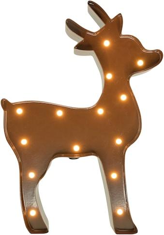 MARQUEE LIGHTS LED Dekolicht »Rentier«, 1 St., Warmweiß, Wandlampe, Tischlampe Rendeer... kaufen