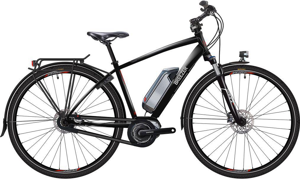 Breezer Bikes E Bike Greenway Ig Di2 2017 8 Gang Shimano Nexus 8