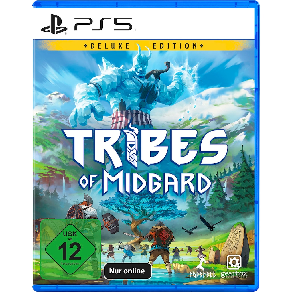 Gearbox Publishing Spiel »Tribes of Midgard Deluxe Edition«, PlayStation 5, nur Online