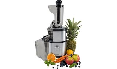 Steba Slow Juicer »Slow-Juicer E 400«, 400 W, schonend kaltes Pressverfahren kaufen