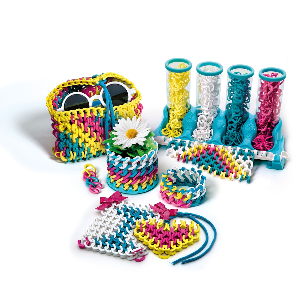 Clementoni® Kreativset »Crazy Chic - Wow-Kreationen«, Made in Europe