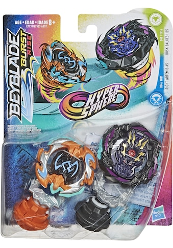 "Hasbro Speed - Kreisel ""Beyblade Burst Rise Hypersphere Doppelpack Dusk Balkesh B5 und Right Artemis A5"" (Set) kaufen"