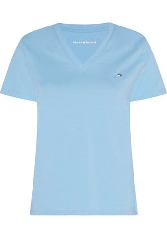 TOMMY HILFIGER V - Shirt »V - NECK TEE« kaufen
