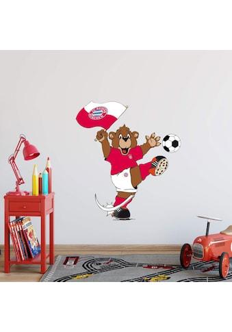 Wall-Art Wandtattoo »FC Bayern München Berni winkt« kaufen