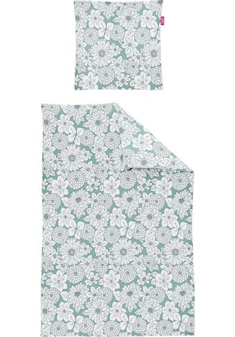 freundin Home Collection Bettwäsche »Corado 8992«, mit Blütenmotiven kaufen
