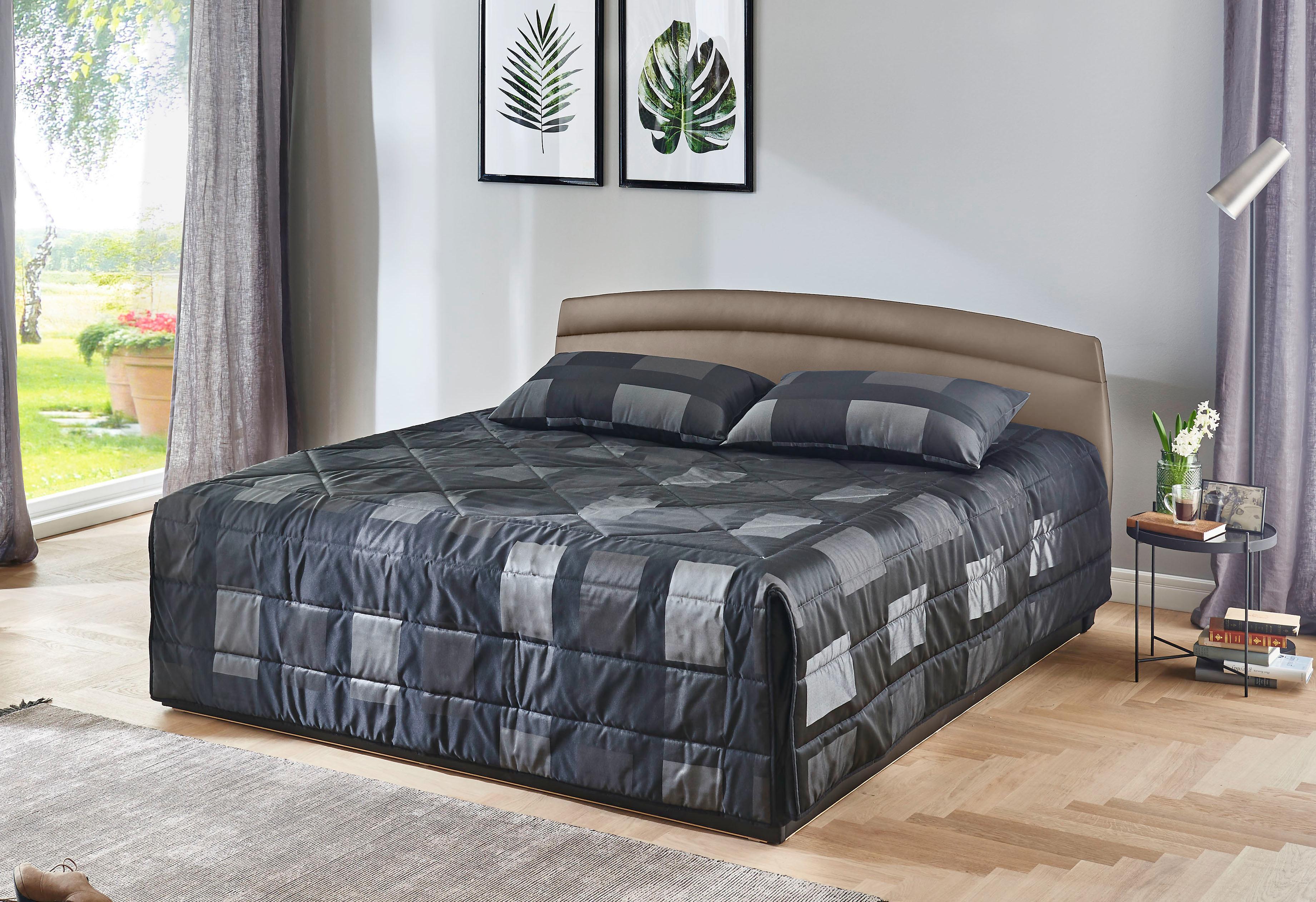 Westfalia Schlafkomfort Polsterbett, wahlweise mit Bettkasten, in 2 Höhen und diversen Ausführungen | Schlafzimmer > Betten > Polsterbetten | Federn - Kunstleder - Polyester - Baumwolle | WESTFALIA SCHLAFKOMFORT