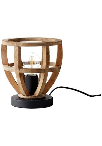 Brilliant Leuchten Tischleuchte »Matrix Nature«, E27, 1 St., Tischlampe 20cm antik... kaufen