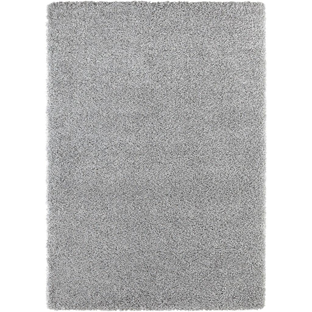 ELLE DECORATION Hochflor-Teppich »Talence«, rechteckig, 50 mm Höhe, dichter weicher Langflor, Wohnzimmer
