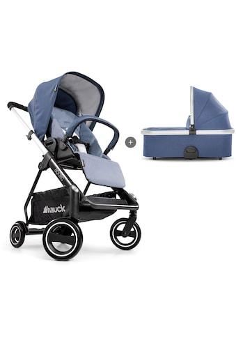 Hauck Sportbuggy »Apollo Duo Set, denim«, inkl. Babywanne und Beindecke; Kinderwagen,... kaufen