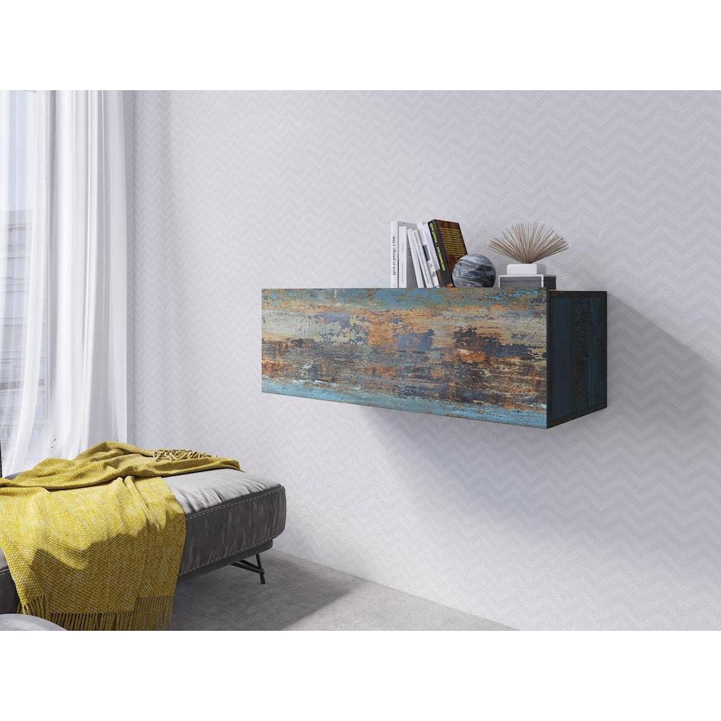 TRENDMANUFAKTUR Hängeschrank »Vento«, Höhe 30,8 cm