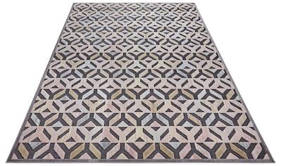 ELLE Decor Teppich »Vézère«, rechteckig, 8 mm Höhe, Hoch-Tief-Struktur, Wohnzimmer kaufen