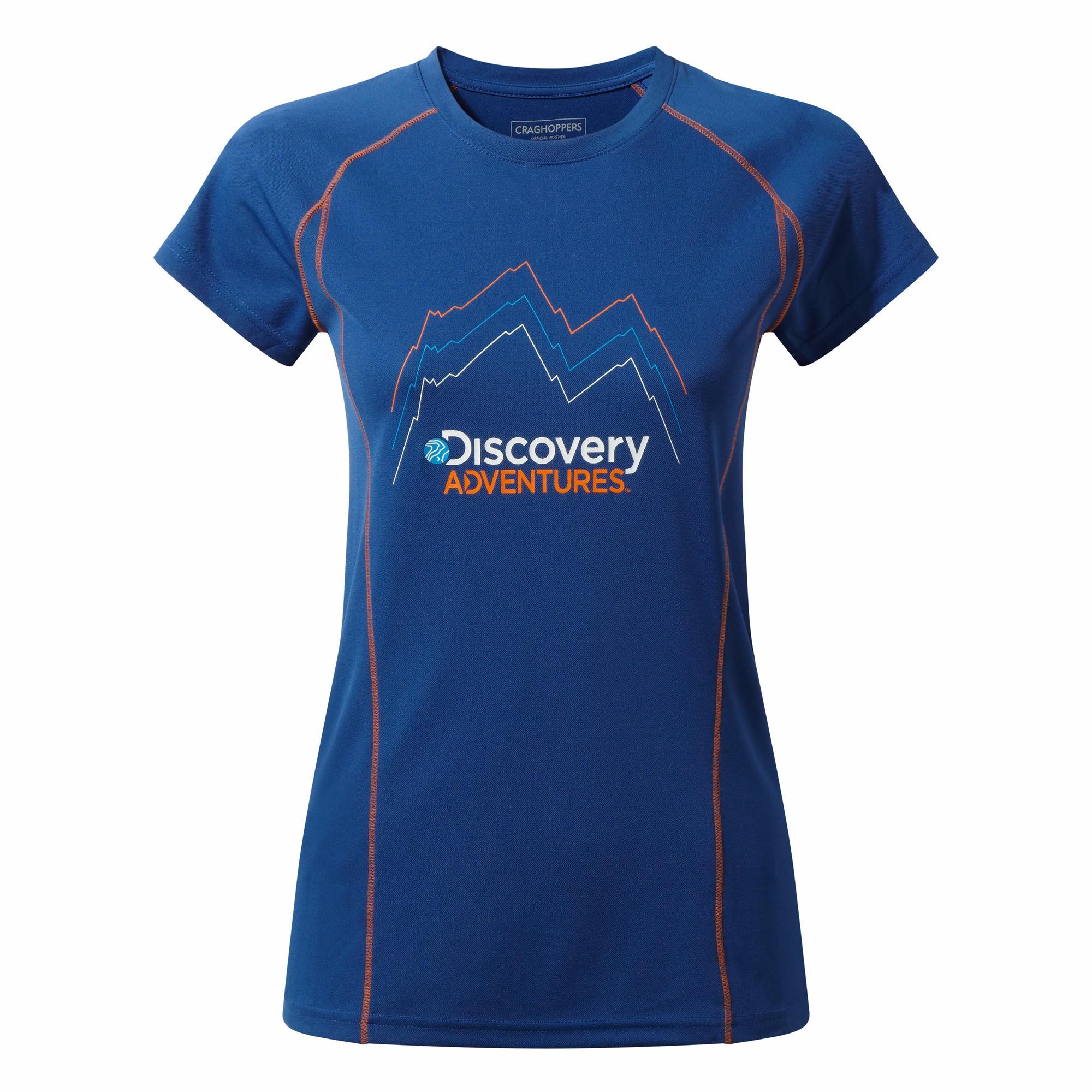 Craghoppers T-Shirt Damen Discovery Adventures leichtes Kurzarm