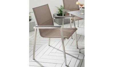 Destiny Gartensessel »ALTOS II«, Textil, stapelbar kaufen