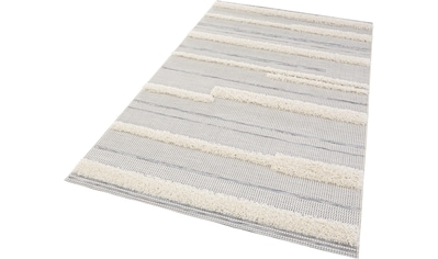 MINT RUGS Teppich »Ifrane«, rechteckig, 35 mm Höhe, In- und Outdoor geeignet, Hoch-Tief-Struktur, Wohnzimmer kaufen