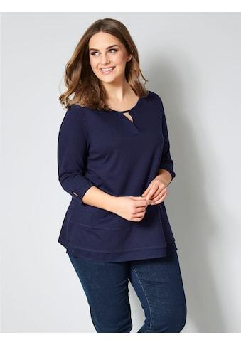 Janet & Joyce by HAPPYsize Shirt in Lagenlook-Optik kaufen