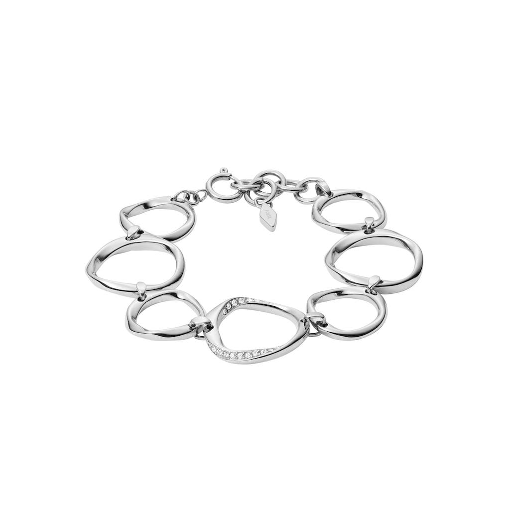 Fossil Armband »JF01145040«, mit Glassteinen
