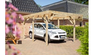 Kiehn-Holz Einzelcarport »KH 100«, Holz, 272 cm, grün kaufen