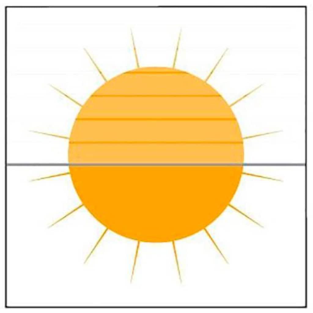 Plissee nach Maß, »Classic Style Crepe«, sunlines, Lichtschutz, verspannt