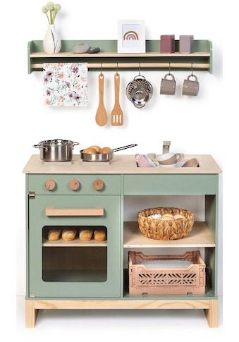 MUSTERKIND® Spielküche »Magnolia, salbei/natur« kaufen