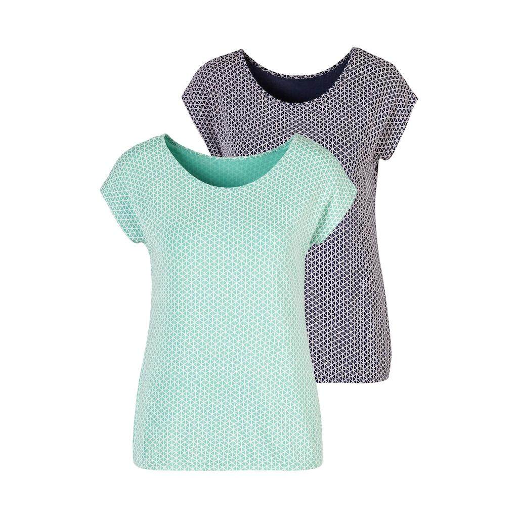 Vivance T-Shirt, mit elastischem Saum