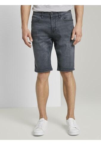 TOM TAILOR Jeansshorts »Josh Regular Slim Jeans - Shorts mit Superstretch« kaufen
