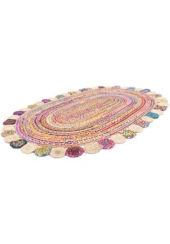 morgenland Teppich »Sisalteppich Teppich Lerina«, oval, 6 mm Höhe kaufen