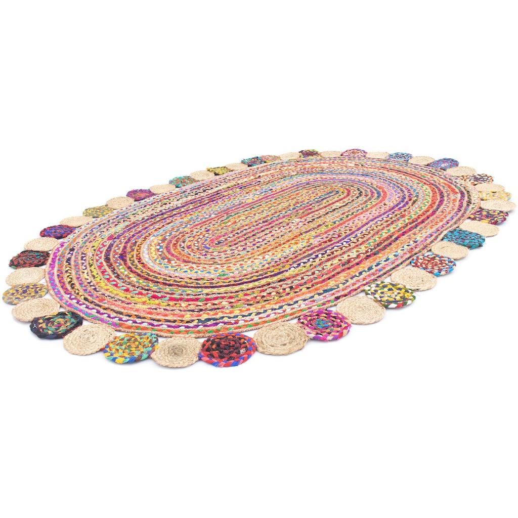 morgenland Teppich »Sisalteppich Teppich Lerina«, oval, 6 mm Höhe