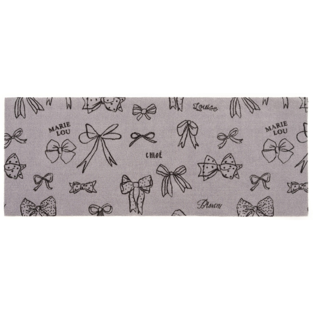 ELLE Decor Kinderteppich »Ribbon«, rechteckig, 7 mm Höhe, waschbarer Teppichläufer, rutschhemmend