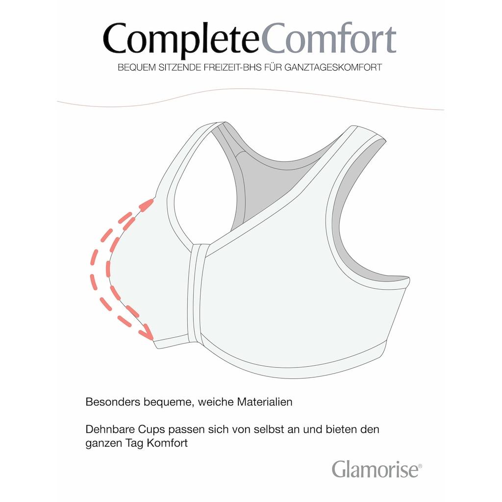 GLAMORISE Entlastungs-BH »1908«, Baumwolle, mit T-Rücken
