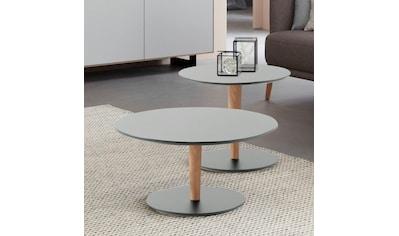 SCHÖNER WOHNEN-Kollektion Couchtisch »DIMARO«, in runder Form, Höhe 45 cm, Füße... kaufen