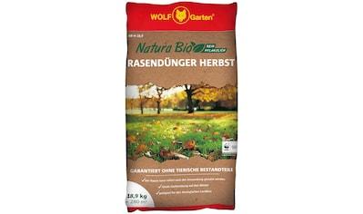 WOLF-Garten Rasendünger »NR-H 10,8 NATURA BIO Herbst«, 18,9 kg kaufen