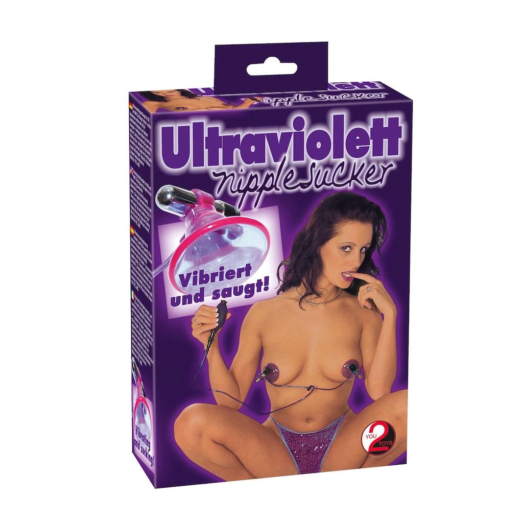 You2Toys Nippelsauger »Ultraviolett«, mit vibrierenden Vibrobullets