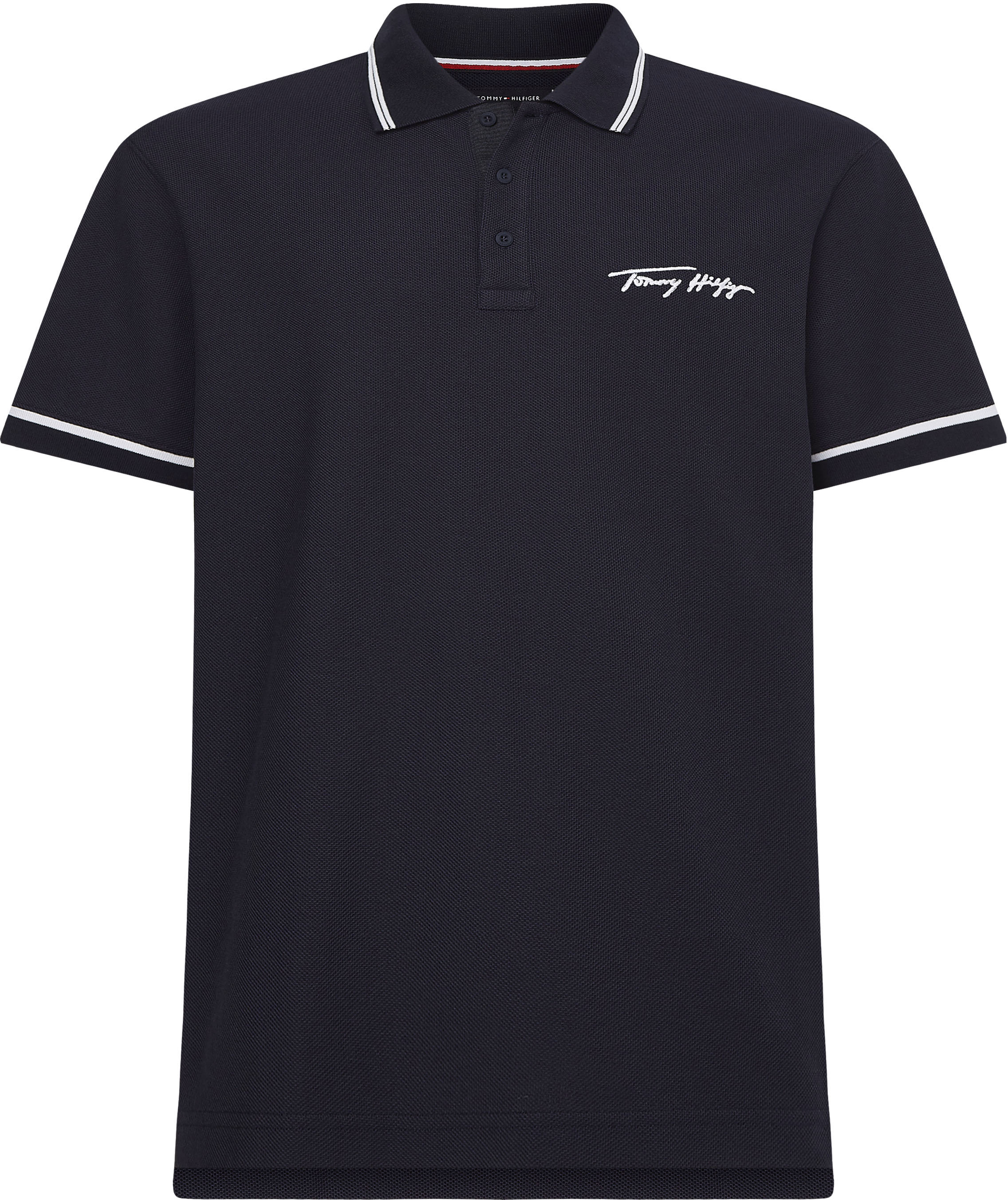 tommy hilfiger -  Poloshirt TOMMY SIGNATURE CASUAL POLO