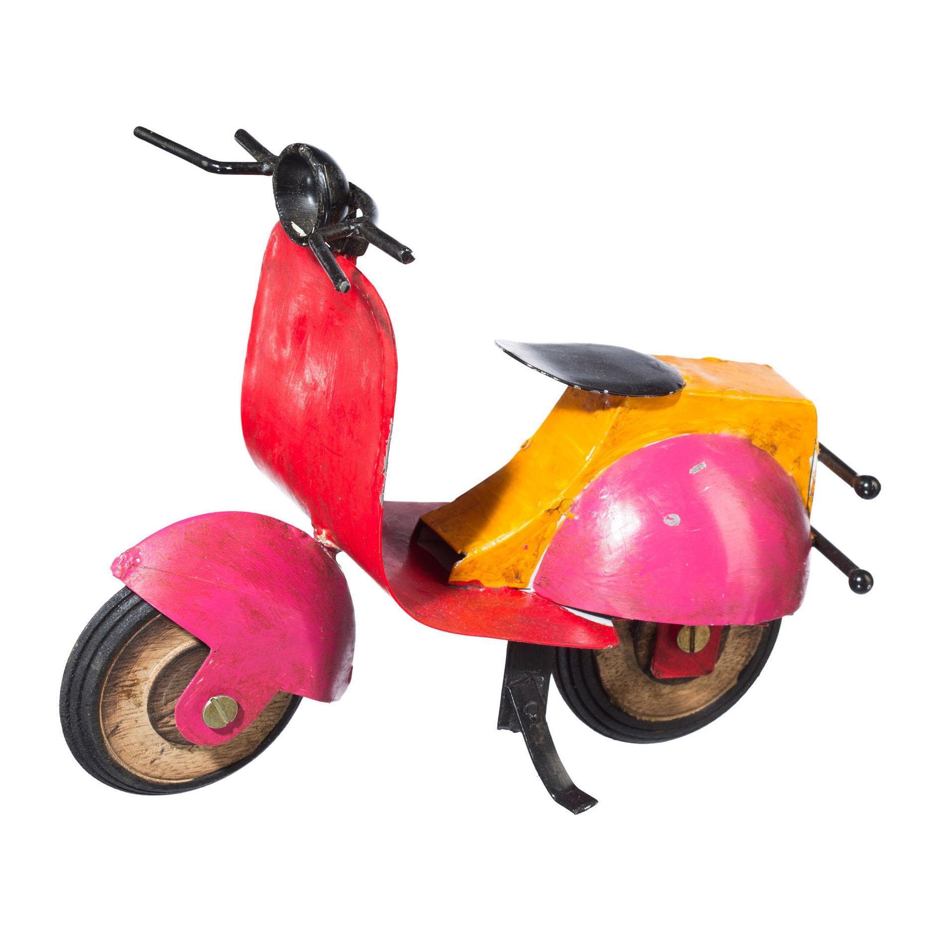 Metall Deko Motorrad »SCOOTER« (2er Set)