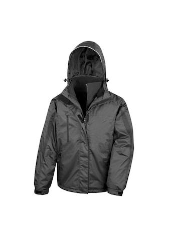 Result 3-in-1-Funktionsjacke »Journey Herren 3in1 Softshell Jacke mit Kapuze, Wasserfest« kaufen