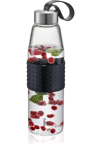 GEFU Trinkflasche »OLIMPIO«, (mit Haltegurt), ideal für kohlensäurehaltige Getränke kaufen