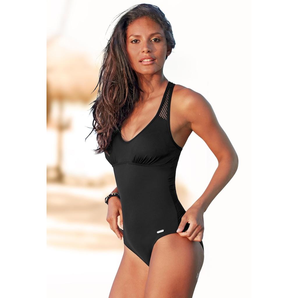 Sunseeker Badeanzug »Miami«, mit Mesh-Einsatz