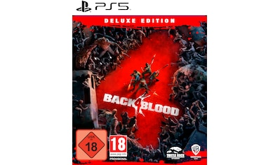 Warner Games Spiel »PS5 Back 4 Blood Deluxe Edition«, PlayStation 5 kaufen