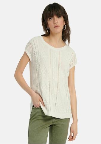 Peter Hahn Kurzarmpullover »Pullover mit 1/2-Arm« kaufen
