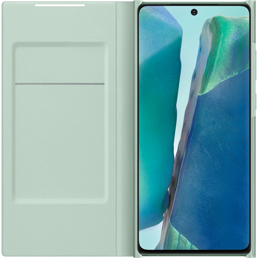 Samsung Flip Case »LED View Cover EF-NN980 für Note 20«, Galaxy Note20