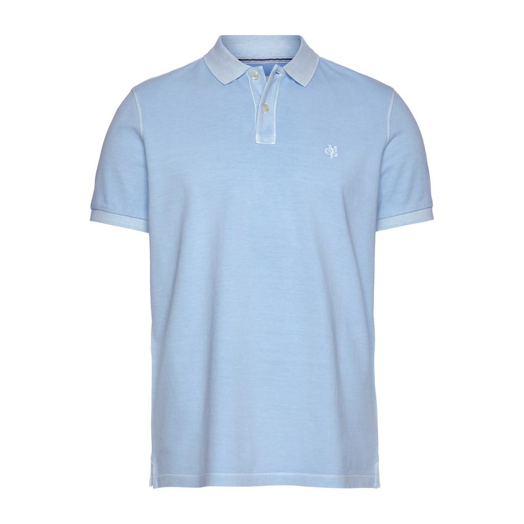 Marc O'Polo Poloshirt, im Used- Look, Piqué- Qualität