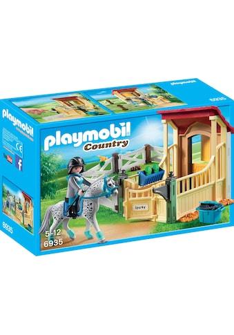 "Playmobil® Konstruktions - Spielset ""Pferdebox Appaloosa (6935), Country"", Kunststoff kaufen"