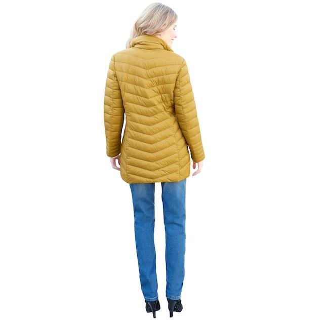 Classic Inspirationen Jacke in matt-glänzender Optik