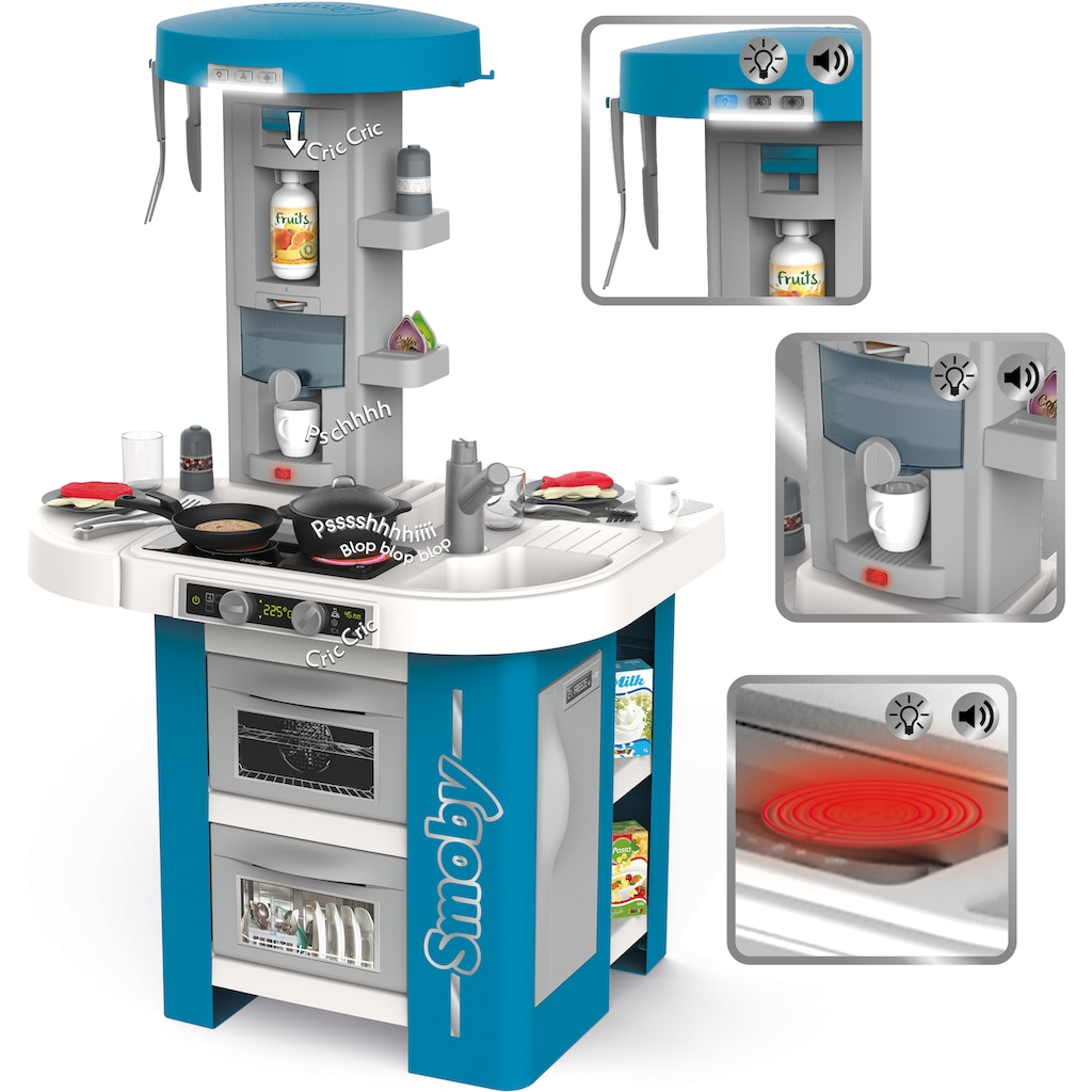 Smoby Spielküche »Tefal Studio Tech-Edition«, (35 St.), Made in Europe