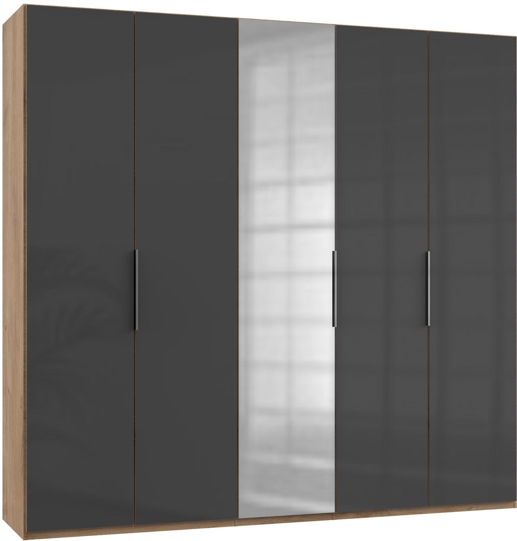 Fresh To Go Kleiderschrank Level mit Glas- und Spiegeltüren