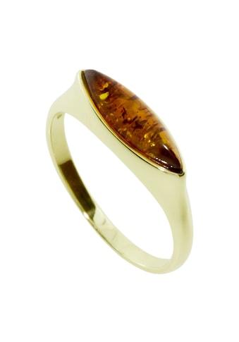 OSTSEE-SCHMUCK Fingerring »- Fenna - Gold 333/000 - Bernstein«, (1 tlg.) kaufen